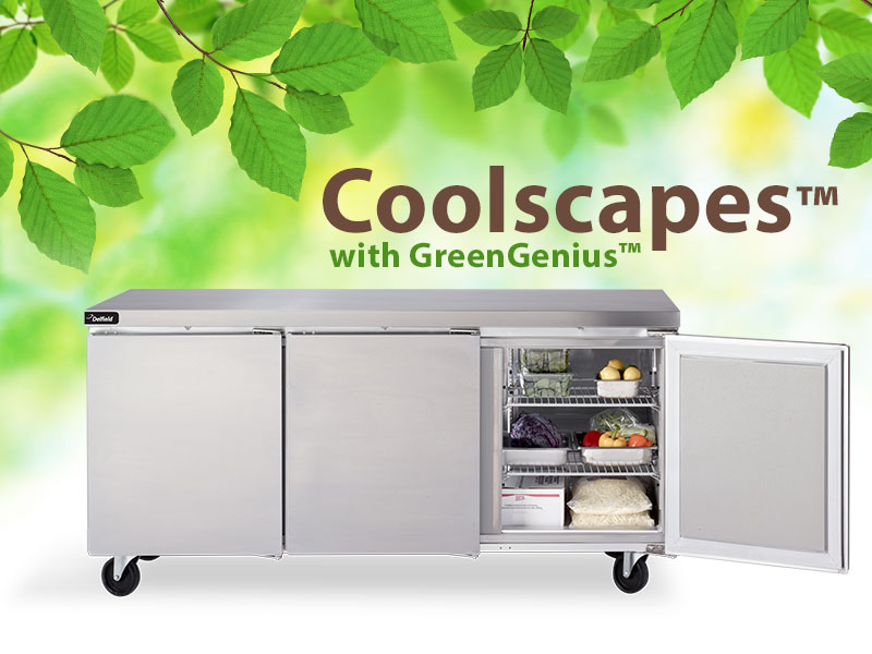 Delfield's new Coolscapes™ Undercounter/Worktables