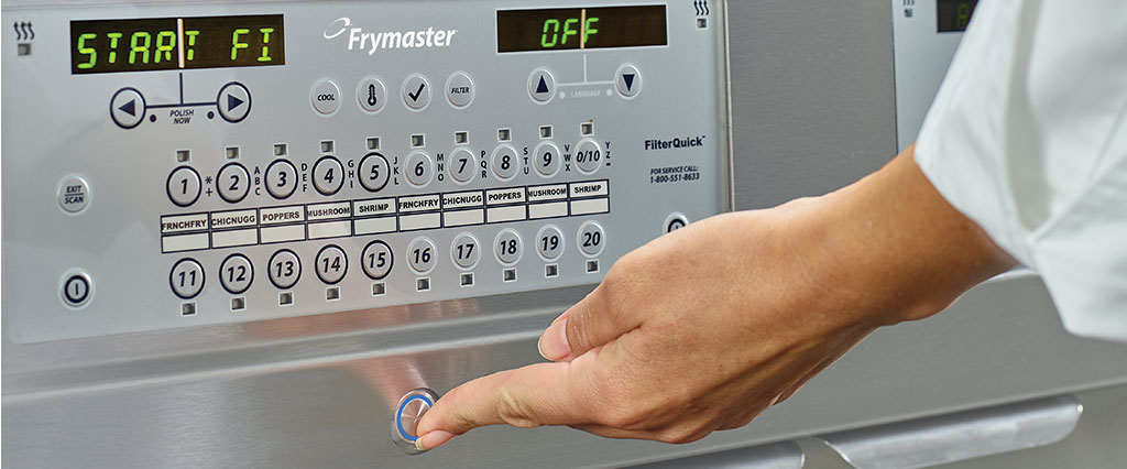 Frymaster OQS, precision in oil quality management with the press of a button