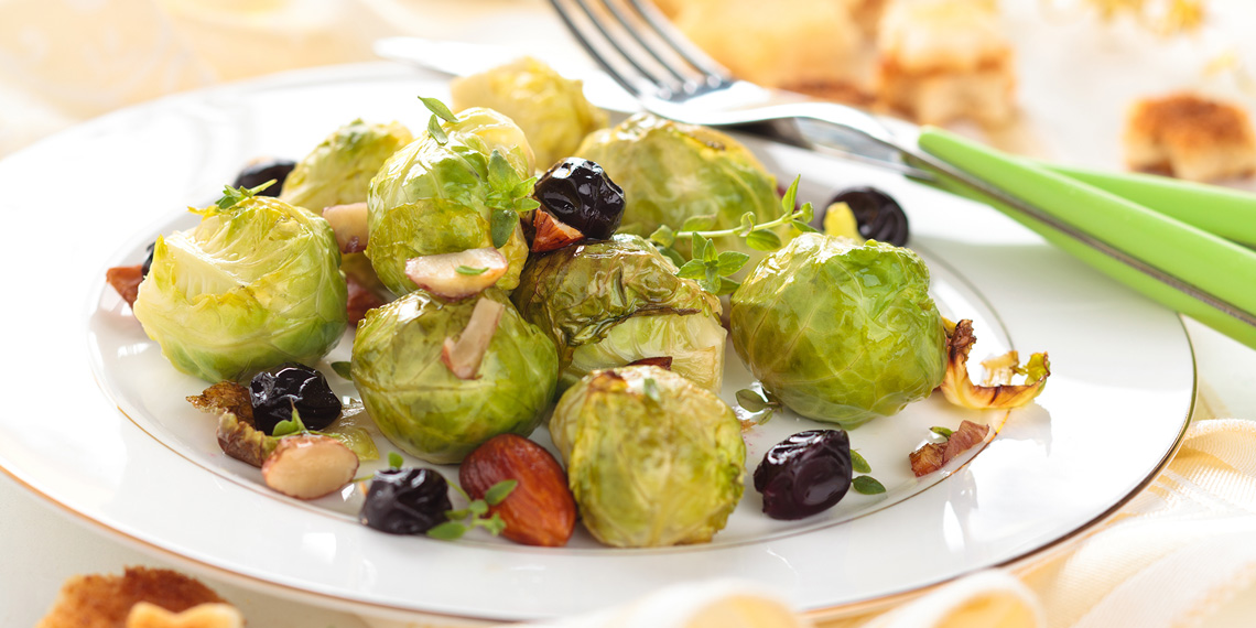 Holiday Brussels Sprouts by Chef Kim Miller-Boivin